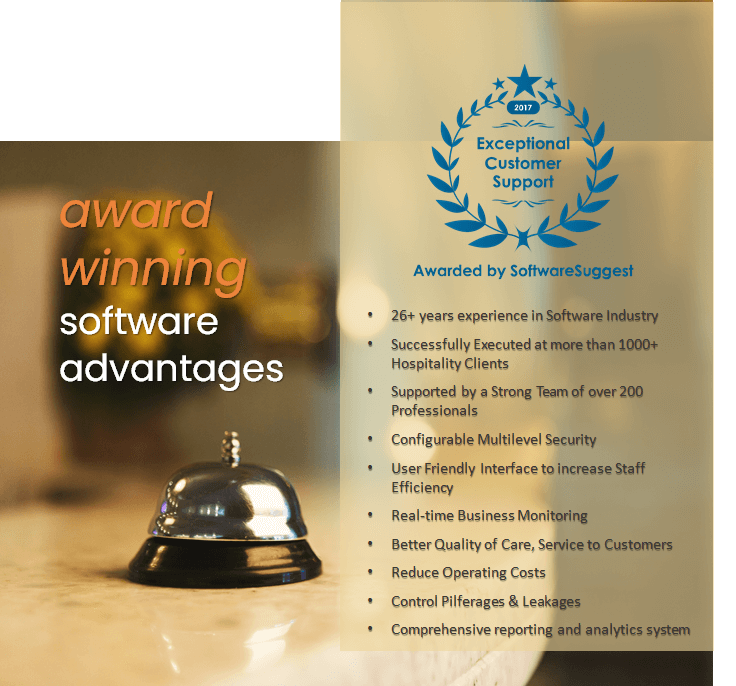 Hotel Management System Award