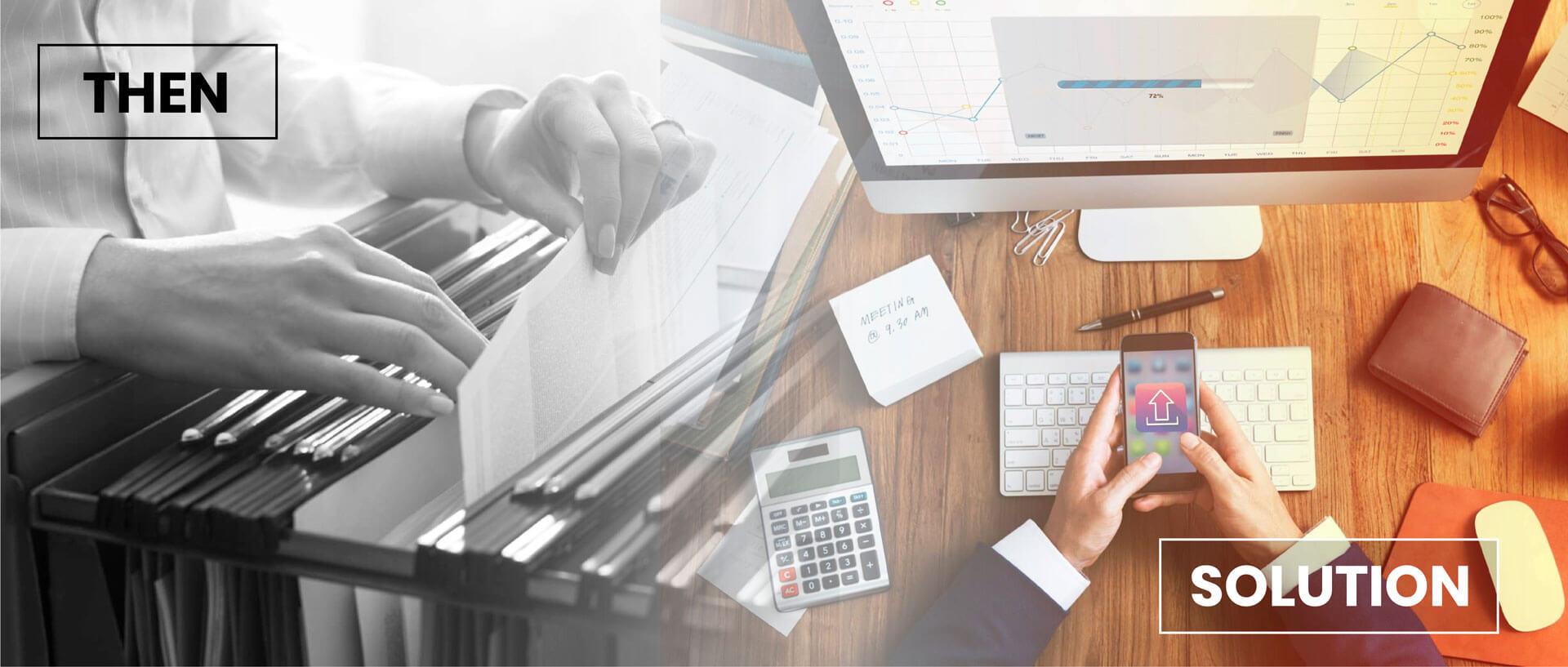 E-Document Management Banner